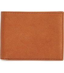 men's nordstrom men's shop james leather wallet - brown