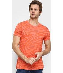 camiseta squadrow visco zebra masculina - masculino