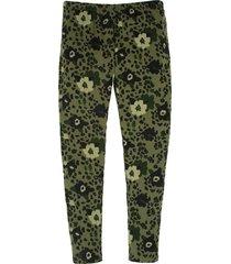 leggings verde  offcorss