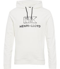 gatcombe hood hoodie trui wit henri lloyd