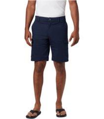 "columbia men's big & tall brentyn trail 2-way stretch 10"" cargo shorts"