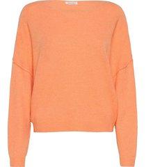 damsville stickad tröja orange american vintage