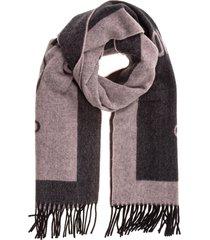 sciarpa donna in lana double question mark