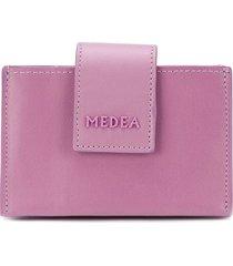 medea logo cardholder wallet - purple