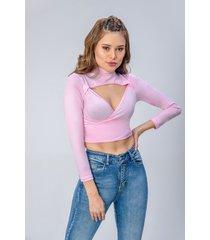 blusa dama rosado di bello jeans  concept blouse ref b240