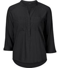 blus vmerika plain 3/4 shirt noos