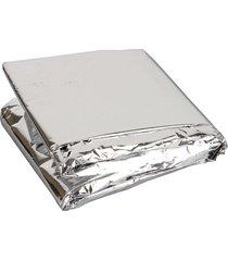 cobertor térmico de emergência alumínio - coleman