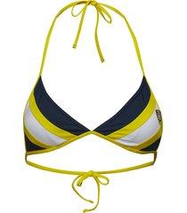 fixed triangle bikinitop gul tommy hilfiger