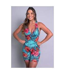 macaquinho mvb modas curto bojo suplex liso fitness amazônia