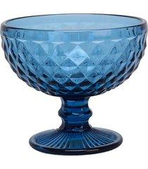taça le prisma sobremesa 380ml azul