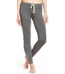 women's honeydew intimates kickin' it leggings, size medium - grey