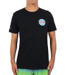 camiseta rvca nsla crest masculina