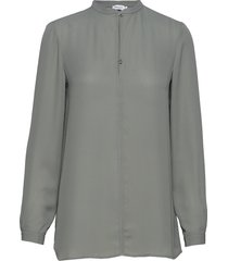 ada tunic blouse blus långärmad grön filippa k