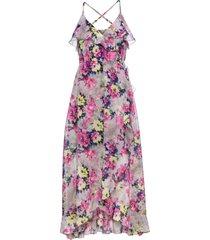 abito a fiori (grigio) - bodyflirt boutique
