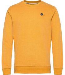 akallen sweat - noos sweat-shirt tröja gul anerkjendt