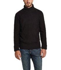 men's chunky turtle neck sweater