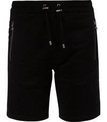 balmain zipped side pocket track shorts