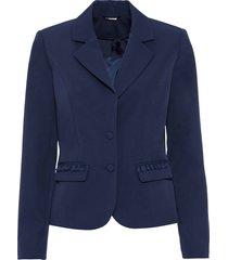 blazer con pizzo (blu) - bodyflirt boutique