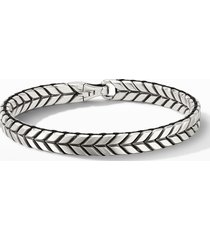 men's david yurman chevron woven bracelet