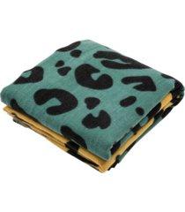 glitzhome women's leopard grain scarf