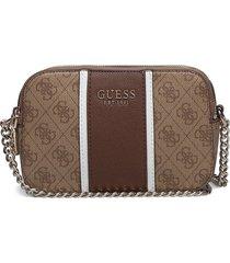 cathleen camera bag bags small shoulder bags - crossbody bags brun guess