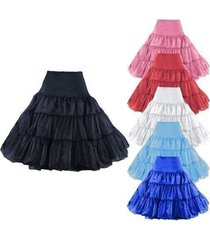 new stock tea length swing vintage prom slips crinoline petticoat underskirt