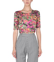 ps by paul smith marigolds print t-shirt