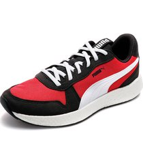 tenis rojo-negro-blanco puma nrgy neko retro