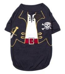 parisian pet captain sparrow dog t-shirt