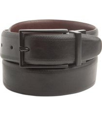 alfani men's embossed stretch reversible belt, created for macy's
