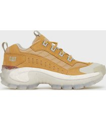 caterpillar intruder sneakers honey