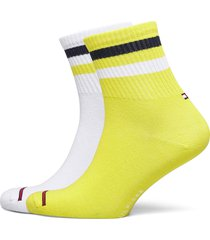 th jeans quarter 2p stripe underwear socks regular socks gul tommy hilfiger
