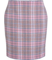 korte ruiten rok