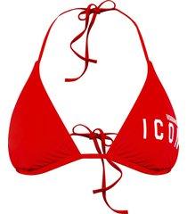 icon triangle bikini top