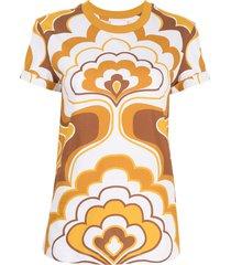 alice mccall lava lamp cotton t-shirt - yellow
