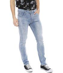 jeans ellus básico azul - calce skinny