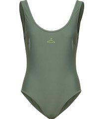 victoria swimsuit ss19 badpak badkleding groen holzweiler