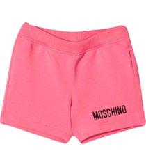 moschino pink shorts