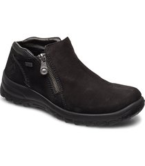 l7160-00 shoes boots ankle boots ankle boot - flat svart rieker