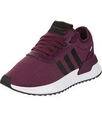 zapatilla  violeta adidas originals u_path x w