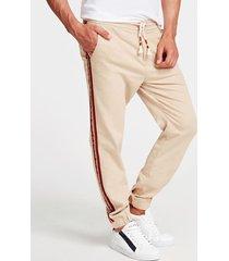 spodnie z pasami na bokach fason skinny