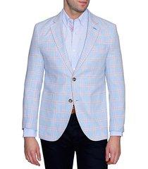 standard-fit check jacket