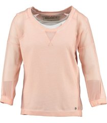 garcia sweater 3/4 mouw met top