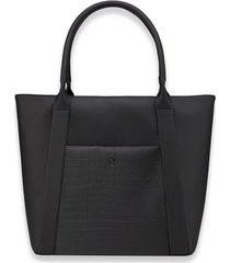 vessel signature 2.0 faux leather medium tote -