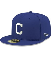 new era cleveland indians re-dub 59fifty cap