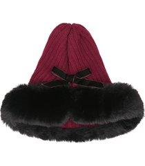 coppia modelli outdoor caldo cappello in maglia beanie tinta unita berretto di lana cappello casual equitazione