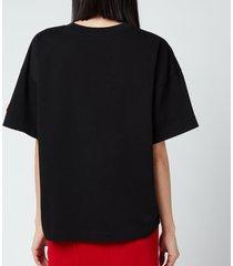 kenzo women's loose t-shirt - black - l