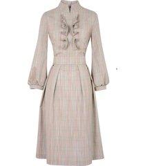 sukienka giuliana beżowa