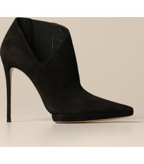 casadei heeled booties casadei camos ankle boot in suede
