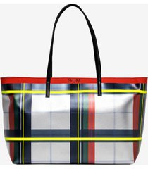 gum design by gianni chiarini shopper tartan